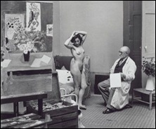 Henri Matisse and his model