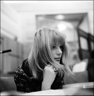 Marianne Faithfull ung